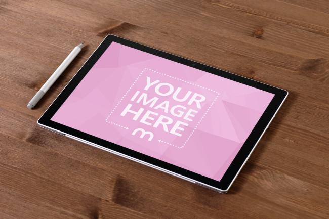 Surface Pro Tablet Mockup Generator