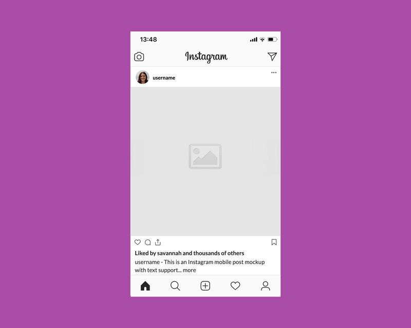 Instagram Post Mockup Maker preview image
