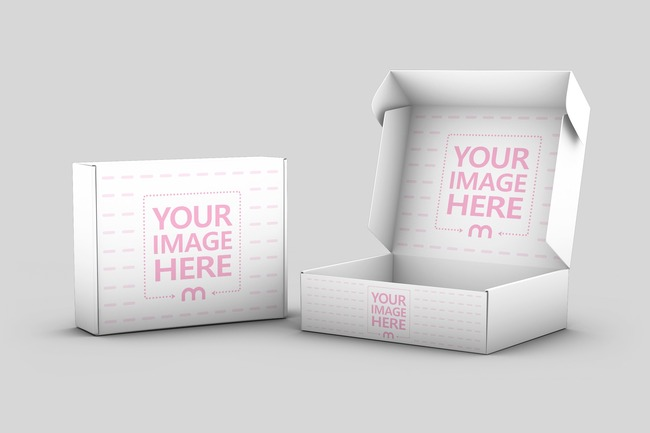 Product Box Mockup Template preview image