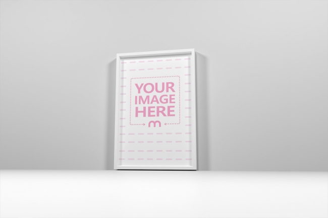 Standing Rectangle Poster Template preview image