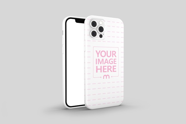 iPhone 12 Pro Cover Mockup preview image