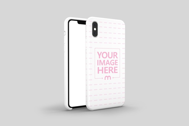 iPhone XS Cover Mockup