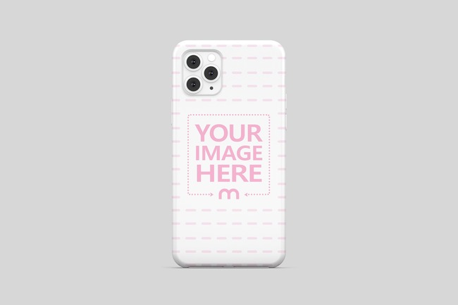 iPhone 11 Pro Case Back View Mockup