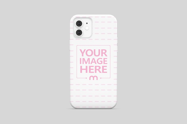 iPhone 12 Case Back View Mockup