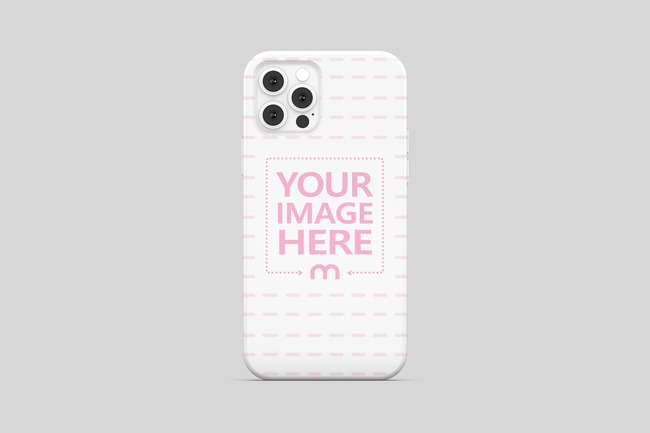 iPhone 12 Pro Case Back View Mockup