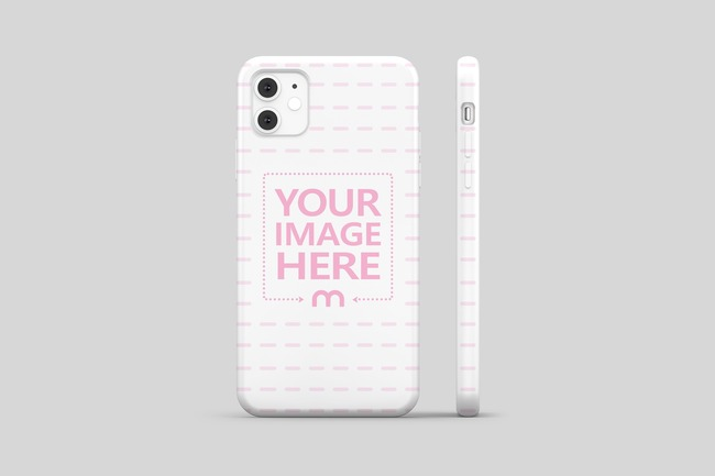 iPhone 11 Cover Back View Mockup