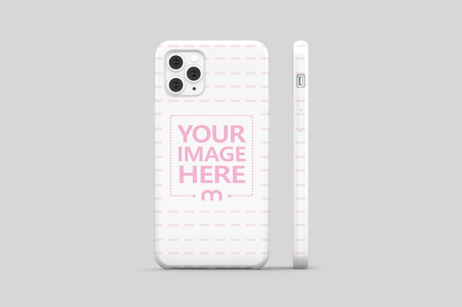 iPhone 11 Pro Cover Back View Mockup