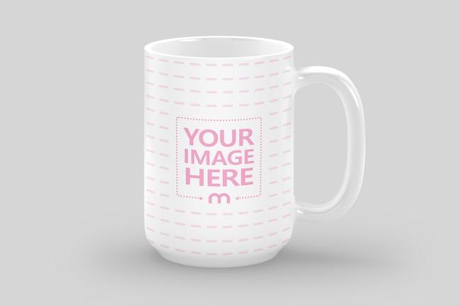 15oz Coffee Mug Mockup Generator preview image