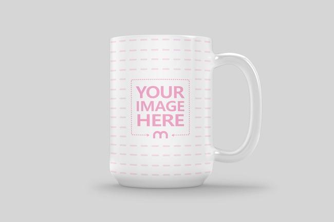 Coffee Mug Side View Mockup preview image
