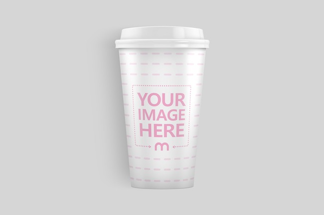 Lying Paper Coffee Cup Mockup preview image