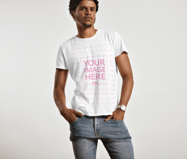 Funky Young Man Wearing Shirt preview image