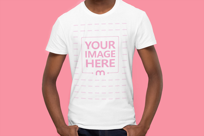 Front Side Mockup T-Shirt Mockup preview image