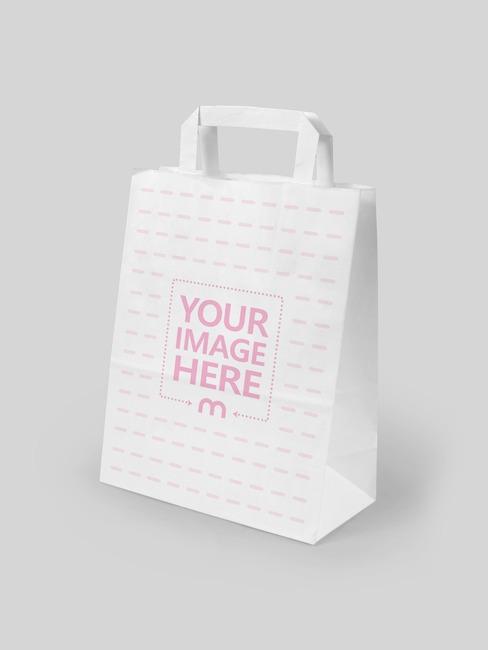 Standing Paper Bag Mockup Generator preview image
