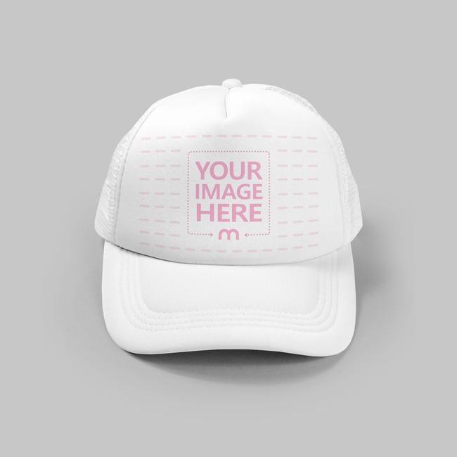Front View Cap Hat Mockup Generator preview image