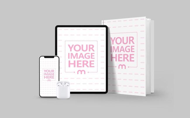 Digital Book Mockup Generator