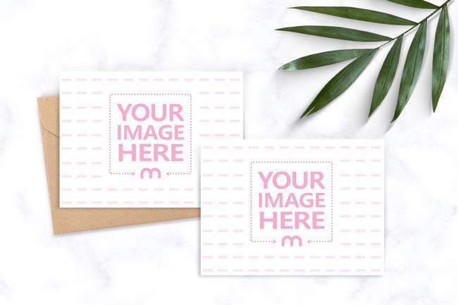 Wedding Invitation Cards Mockup Generator preview image