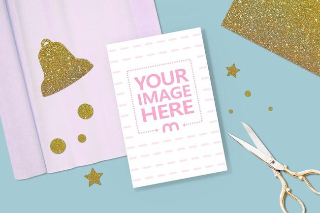 Craft Greeting Card Mockup