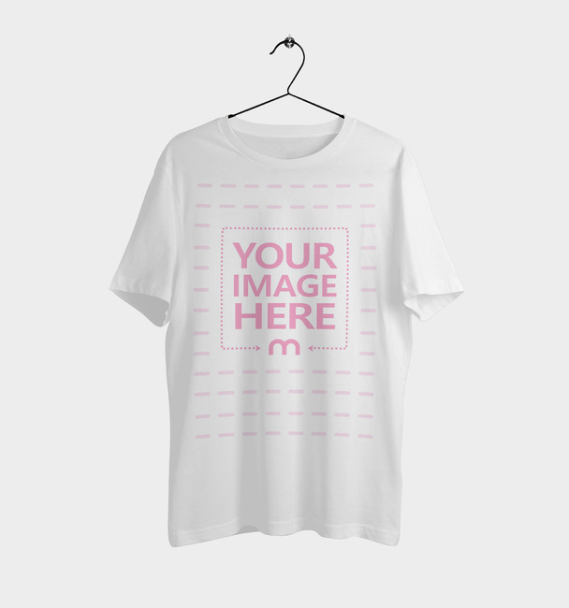 T-Shirt on Hanger Mockup preview image