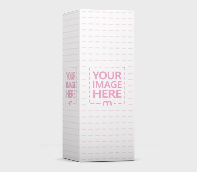 3D Standing Box Mockup Generator preview image