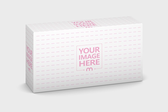 Package Box 110x60x30 Mockup preview image