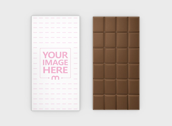 Chocolate Bar Mockup Generator preview image