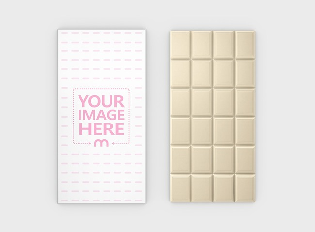 Chocolate Packaging Mockup preview image