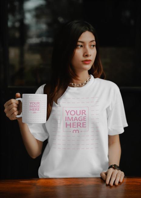 Mug and Shirt Mockup  preview image