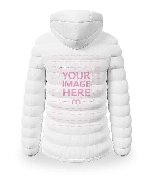 Back Side Winter Jacket Mockup preview image