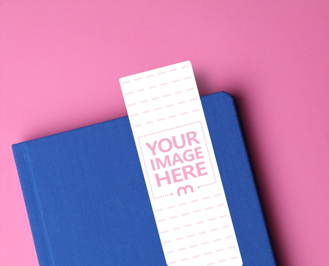 Book with Round Edges Mockup