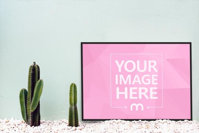 Landscape A1 Poster Mockup