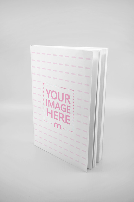 Standing Paperback Book Mockup preview image