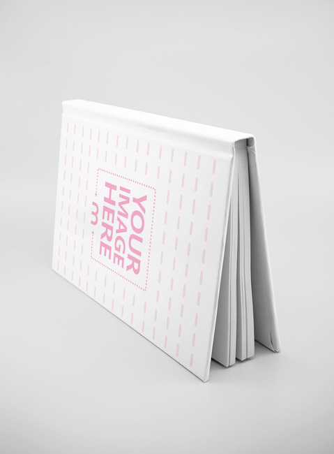 Upside Down Hardcover Book Mockup