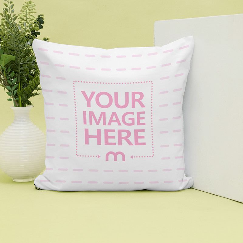 Standing Pillow Showcase Mockup