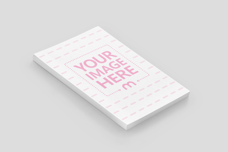 Stack of Papers Mockup Generator